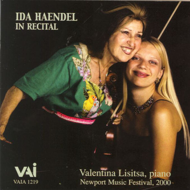 Live with Ida Haendel (recital)